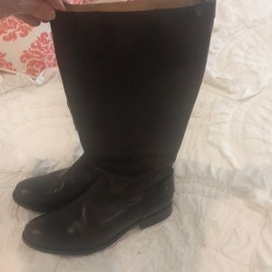 Frye Dark brown riding boots
